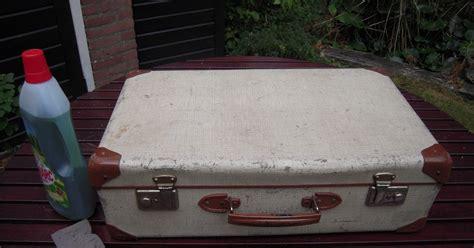 Oude Koffer Pimpen by Blijmaakzooi Geen Geld Voor Een Nieuwe Koffer