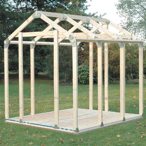 basics diy shed kit peak roof style chkadelscom