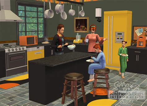 interior stuff the sims 2 kitchen bath interior design stuff gamespot