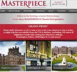 Pbs Org Masterpiece Sweepstakes - www pbs org sweepstakes pbs masterpiece classic sweepstakes