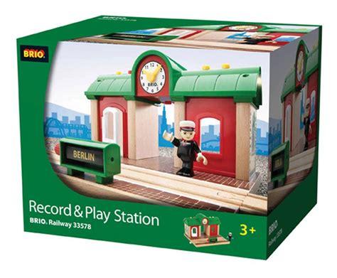 Brio Gift Card Deals - brio record play station wooden train engine 33578 ebay
