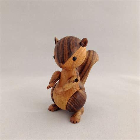 squirrel hiroki asaka wooden doll work boneka kayu