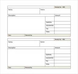 Pay Receipt Template 7 General Receipt Templates Free Samples Examples
