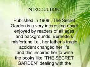 book report on the secret garden the secret garden