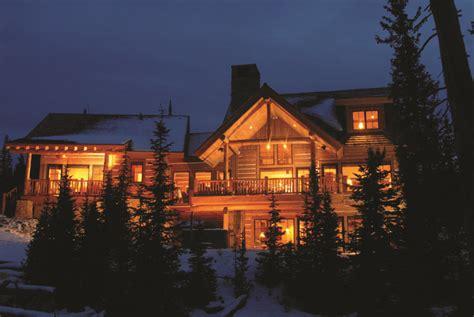 spanish peaks resort cabins teton heritage builders