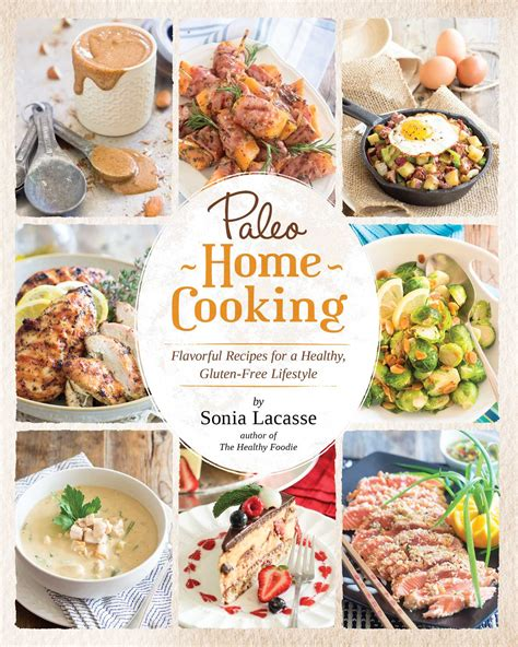 paleo home cooking book by lacasse official