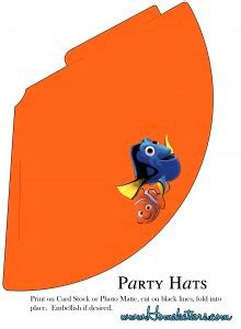finding nemo party printables