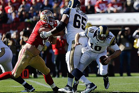 niners and rams score rams niners study session offense st louis rams espn