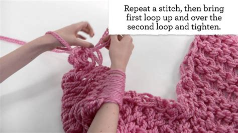 how to knit arm knitting scarf patterns a knitting