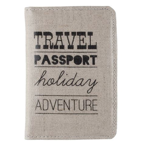 Cover Passport 6 passport cover and luggage tag ideal home show shop