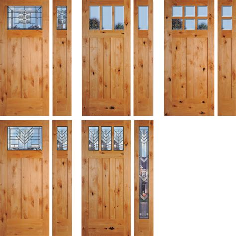 Knotty Alder Exterior Door Sea Tac Knotty Alder Wood Exterior Doors Washington Energy Services
