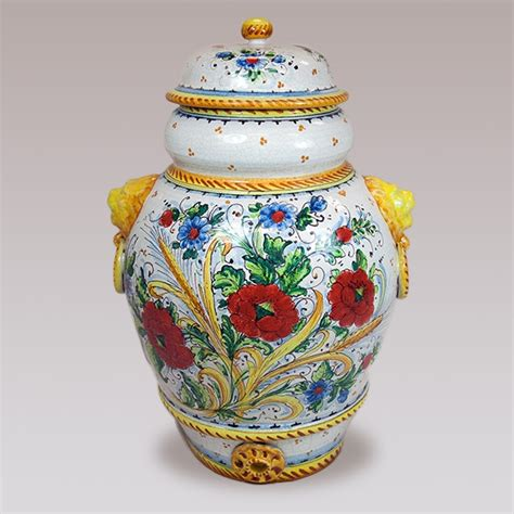 Amalfi Vases by Small Poppy Vase With Top From The Amalfi Coast Of Italy 1 188 49 Wedding Gift Follow This