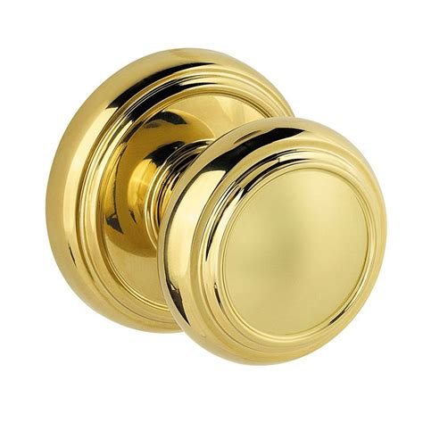 shop kwikset prestige alcott polished brass passage