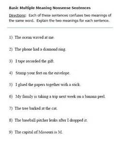 Meaning Worksheets by Meaning Words Worksheets And Words On
