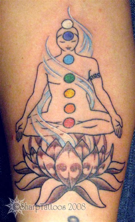 chakras tattoo ink