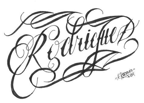 rodriguez tattoo designs 15 font generator cursive rodriuez cursive