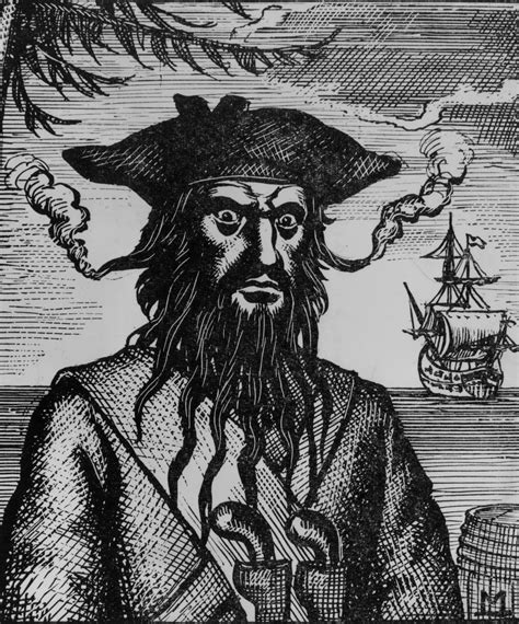 was blackbeard real blackbeard information from answers com