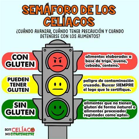 semaforo de los celiacos  es  como ayuda en la dieta sin gluten
