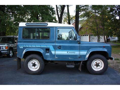 how to sell used cars 1986 land rover range rover electronic valve timing 1986 land rover defender for sale classiccars com cc 587428
