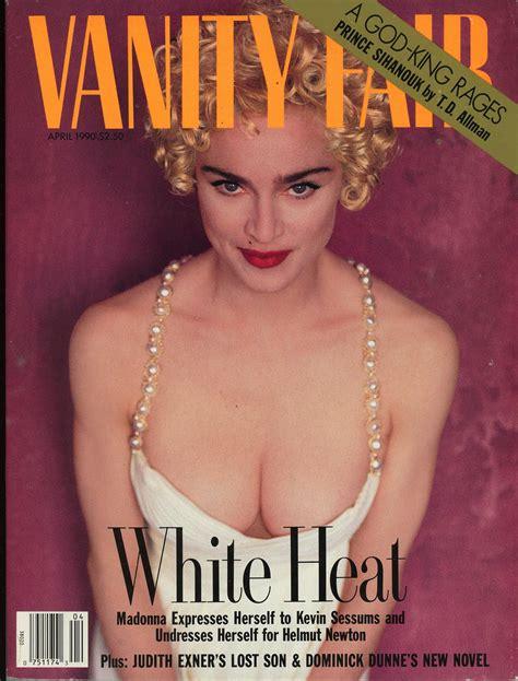 Madonna Vanity Fair by Vanity Fair Madonna Vanity Fair April 1990 White Heat