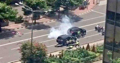 delapan serangan teroris  jakarta hari  okezone