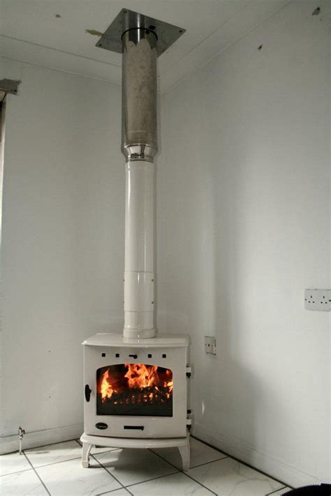 How To Install A Wood Burning Stove Into A Fireplace by Carron 7 8kw Multi Fuel Wood Burning Stove Installation On