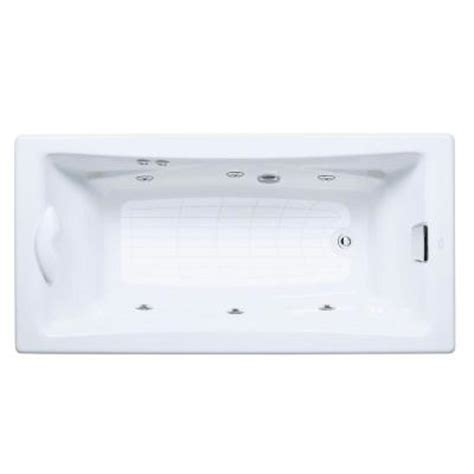 tea for two bathtub kohler tea for two 6 ft whirlpool tub with reversible
