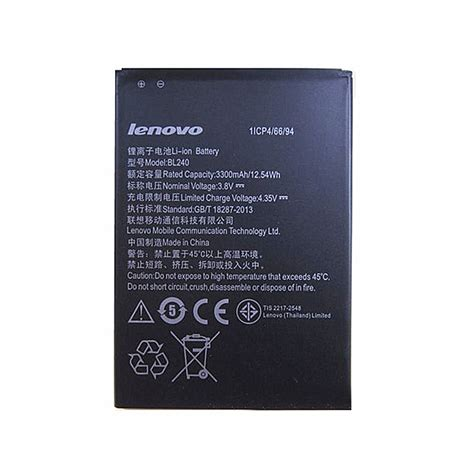 Lenovo Note 8 A936 A963 Bl240 3300mah Battery Batre Baterai 904646 bl240 battery batteries pack for li ion lenovo bl240 at batteryadapter au