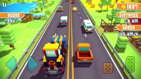 blocky highway android apk blocky highway free for tablet and phone - Highway Apk Free