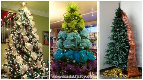 decorar un árbol de navidad sencillo imagenes de arboles decorados para navidad