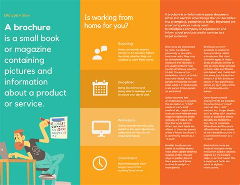 how to make a brochure template asthma brochure template 2 best agenda templates