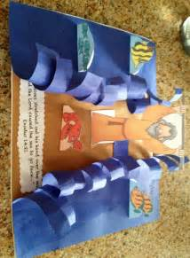 moses crafts for moses craft idea for waves and