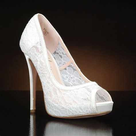 Lace Bridal Shoes by Lace Platform Wedding Shoes Images
