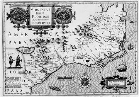 Colonial Virginia Map by Immigration To The Chesapeake