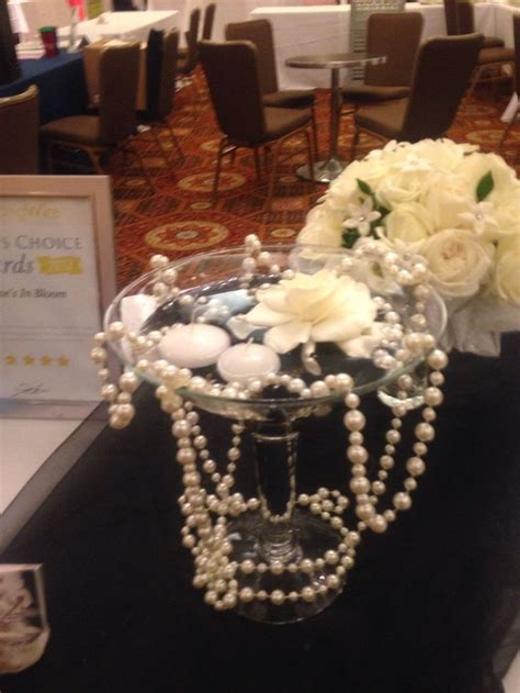 great gatsby themed centerpiece ball theme pinterest