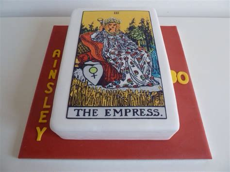 Tarot Card Birthday Cake tarot card cake cakes by siobhan cakes by siobhan