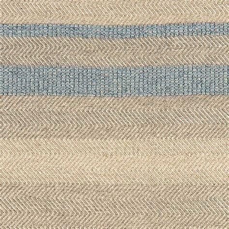 Tapis Beige Et Bleu by Tapis Moderne 233 En Coton Et Viscose Bleu Ciel