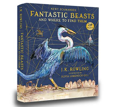 Harry Potter Fantastic Beasts Character Guide Hardcover Import harry potter the hogwarts library harry potter books jk rowling books harry potter book sets