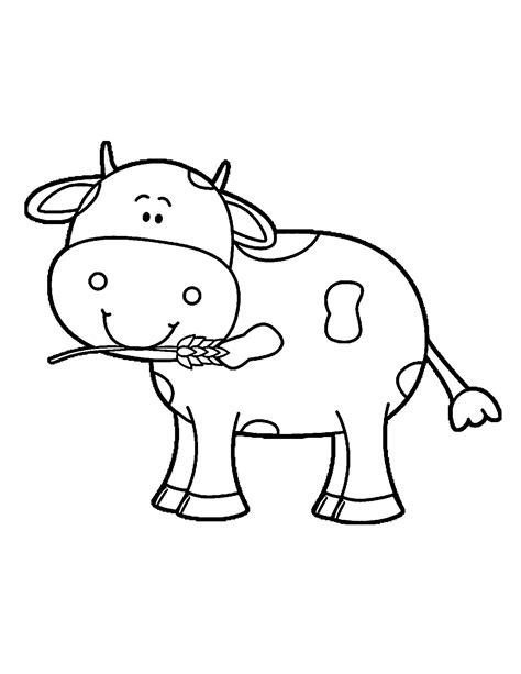 preschool cow coloring page preschool cow coloring pages preschool best free