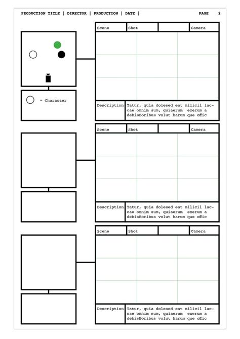 Design Storyboard Template by Storyboards On Quot Indesign Storyboard