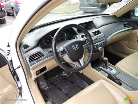 honda accord 2008 interior ivory interior 2008 honda accord ex l coupe photo