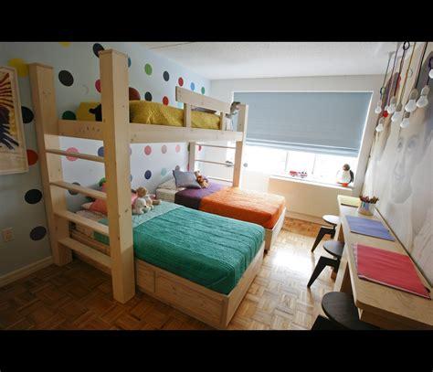 triplets in their bedroom bedroom for triplets in midtown manhattan photos hgtv