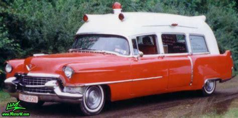 1955 Cadillac Ambulance 55 Caddy Ambulance Sideview 1955 Cadillac Ambulance