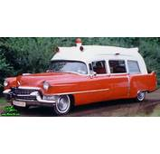 55 Caddy Ambulance Sideview  1955 Cadillac