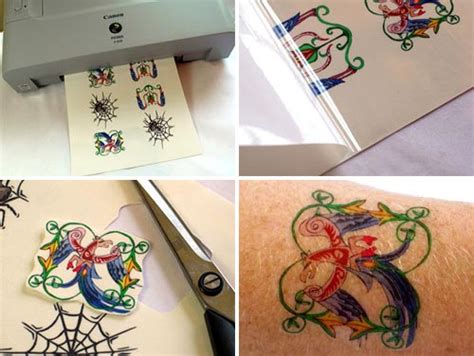 tattoo paper inkjet printers fun stuff inkjet tattoo paper