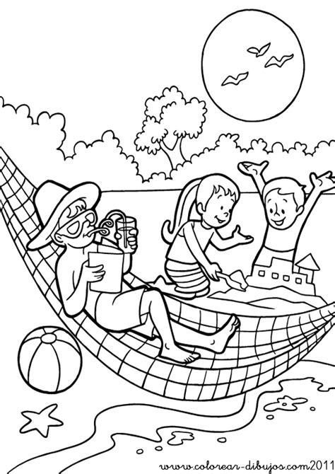 imagenes de las vacaciones para colorear im 225 genes con dibujos de verano para pintar colorear im 225 genes
