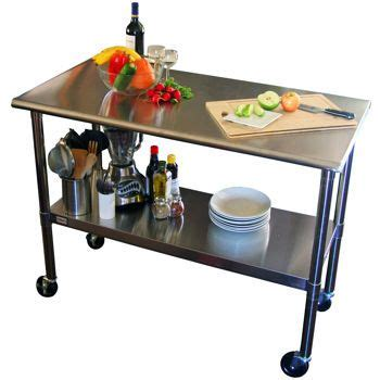 stainless steel prep table costco costco ecostorage nsf stainless steel prep table