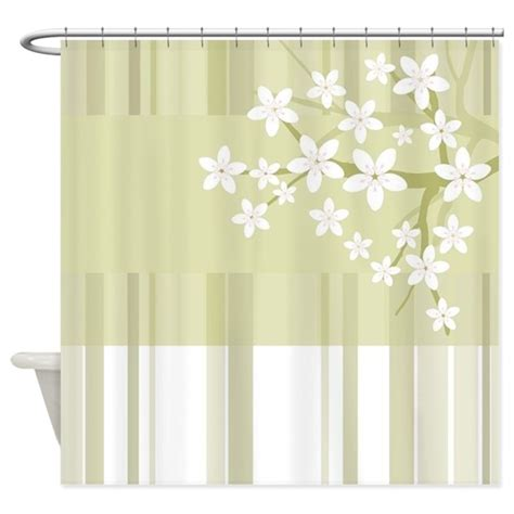 sakura shower curtain sakura japanese cherry tree floral shower curtain by admin