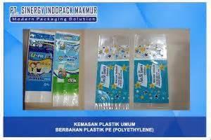 Plastik Jenis Pe kemasan plastik berbahan pe polyethylene