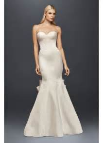 truly zac posen seamed satin wedding dress david s bridal